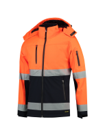 Tricorp 403007 Softshell ISO20471 Bicolor - Fluor Orange-Navy