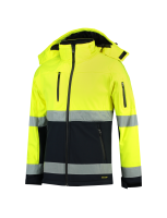 Tricorp 403007 Softshell ISO20471 Bicolor - Fluor Yellow-Navy
