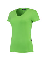 Tricorp 101008 T-Shirt V Hals Slim Fit Dames - Lime