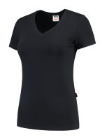 Tricorp 101008 T-Shirt V Hals Slim Fit Dames - Navy