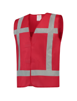 Tricorp 453004 Vest Reflectie - Red
