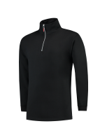 Tricorp 301010 Sweater Ritskraag - Black