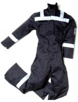 ESS Workwear Overall Pyrovatex striping