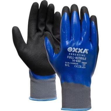 56169c0916f793 M-Safe Full-Nitrile 14-650 handschoen - Safety Nation B.V.
