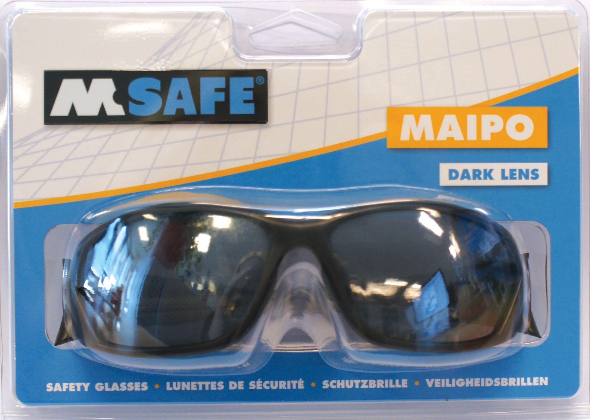 81fc13ec686984 M-Safe v-bril Maipo donkere lens blister - Safety Nation B.V.
